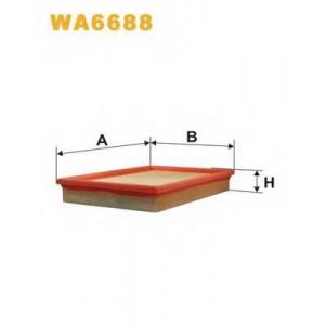 Воздушный фильтр wa6688 wix - SKODA FABIA (6Y2) Наклонная задняя часть 1.4 16V