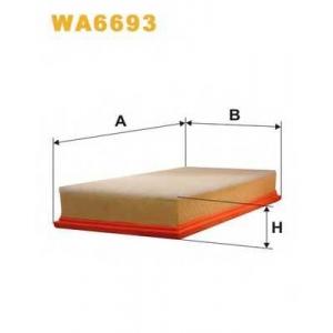 WIX WA6693 Фильтр воздушный SEAT TOLEDO II, SKODA OCTAVIA, VW GOLF WA6693/AP149/5 (пр-во WIX-Filtron UA)