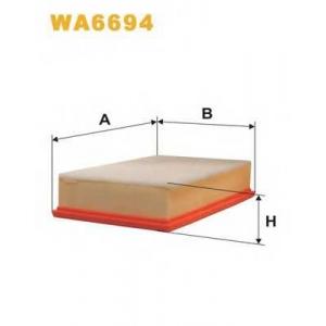 WIX FILTERS WA6694 Фильтр воздушный SEAT TOLEDO WA6694/AP140/1 (пр-во WIX-Filtron)
