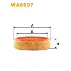 WIX WA6697 Фильтр воздушный RENAULT WA6697/AR131/1 (пр-во WIX-Filtron UA)