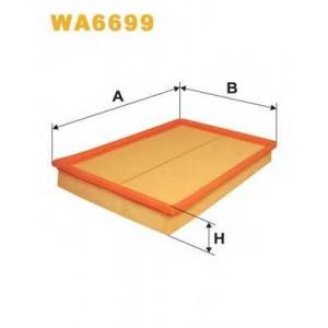Воздушный фильтр wa6699 wix - OPEL MERIVA вэн 1.4 16V Twinport LPG