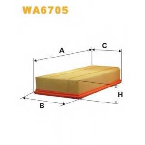 WIXFILTRON WA6705 Фільтр повітряний
