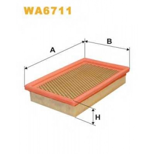 WIX FILTERS WA6711 Фильтр воздушный WA6711/003/4 (пр-во WIX-Filtron)