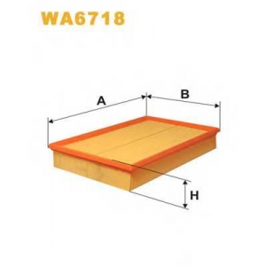 Воздушный фильтр wa6718 wix - VOLVO V70 I (P80_) универсал 2.4