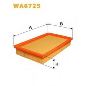 WIX FILTERS WA6725 Фильтр воздушный WA6725/110/1 (пр-во WIX-Filtron)