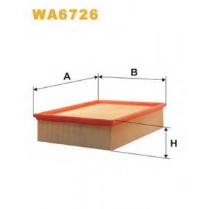 Воздушный фильтр wa6726 wix - AUDI A4 (8E2, B6) седан 1.8 T