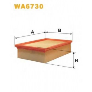 Воздушный фильтр wa6730 wix - PEUGEOT 307 (3A/C) Наклонная задняя часть 2.0 HDi 90