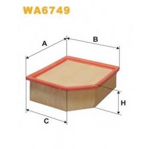 WIX FILTERS WA6749 Фильтр воздушный CITROEN, PEUGEOT (пр-во WIX-Filtron)
