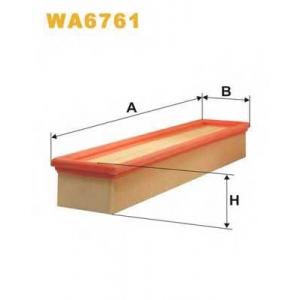 WIX WA6761 Фильтр воздушный RENAULT WA6761/AP134/4 (пр-во WIX-Filtron UA)