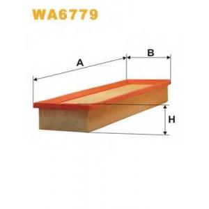 WIX FILTERS WA6779 Фильтр воздушный CITROEN WA6779/AP130/7 (пр-во WIX-Filtron)