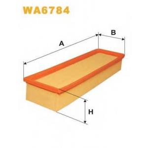 WIX FILTERS WA6784 Фильтр воздушный CITROEN BERLINGO WA6784/AP130/8 (пр-во WIX-Filtron)