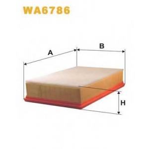 WIX FILTERS WA6786 Фильтр воздушный WA6786/AP032/2 (пр-во WIX-Filtron)