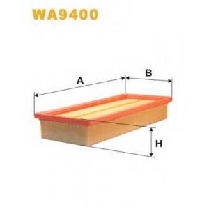 WIX FILTERS WA9400 Фильтр воздушный WA9400/AP022/1 (пр-во WIX-Filtron)