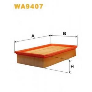 WIX FILTERS WA9407 Фильтр воздушный AP074/5/WA9407 (пр-во WIX-Filtron)
