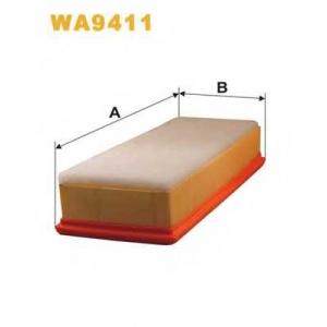 wa9411 wix Воздушный фильтр CITROËN C3 Наклонная задняя часть 1.4 16V HDi