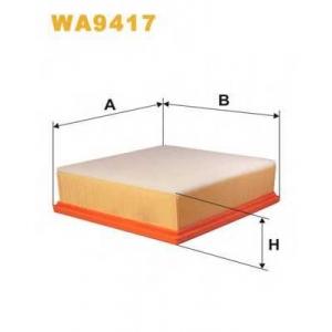 WIX FILTERS WA9417 Фильтр воздушный WA9417/165/4 (пр-во WIX-Filtron)