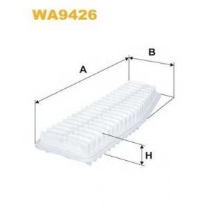 WIX FILTERS WA9426 Фильтр воздушный TOYOTA PREVIA 2.4i WA9426/AP142/5 (пр-во WIX-Filtron)