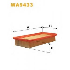 Воздушный фильтр wa9433 wix - HYUNDAI GETZ (TB) Наклонная задняя часть 1.6