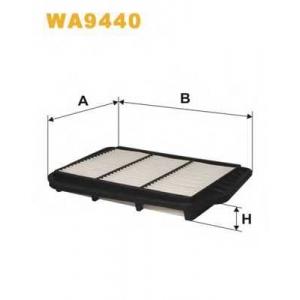 WIX FILTERS WA9440 Фильтр воздушный LACETTI WA9440/AP082/6 (пр-во WIX-Filtron)