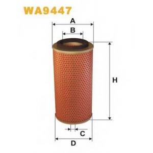 WIX FILTERS WA9447 Фильтр воздушный WA9447/AM433/2 (пр-во WIX-Filtron)