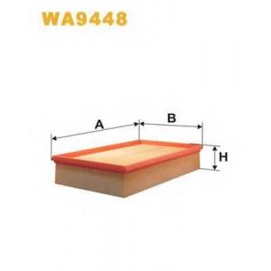 WIX WA9448 Фильтр воздушный VW T5 WA9448/AP157/4 (пр-во WIX-Filtron UA)