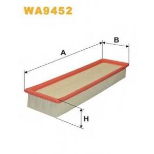 WIX FILTERS WA9452 Фильтр воздушный WA9452/AP058/2 (пр-во WIX-Filtron)