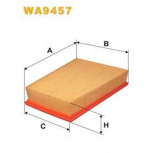 Воздушный фильтр wa9457 wix - RENAULT MEGANE II универсал (KM0/1_) универсал 1.9 dCi