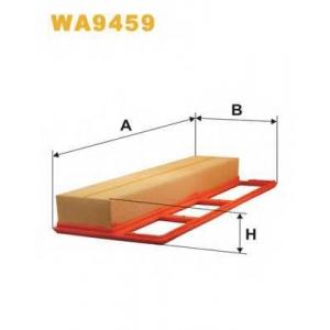 Воздушный фильтр wa9459 wix - FIAT PANDA (169) Наклонная задняя часть 1.3 D Multijet 4x4