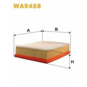WIX FILTERS WA9468 Фильтр воздушный VW WA9468/AP157/3 (пр-во WIX-Filtron)
