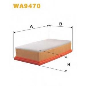 WIX FILTERS WA9470 Фильтр воздушный WA9470/090/3 (пр-во WIX-Filtron)