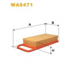 WIX FILTERS WA9471 Фильтр воздушный WA9471/AP090/4 (пр-во WIX-Filtron)
