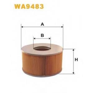 WIX FILTERS WA9483 Фильтр воздушный TOYOTA LANDCRUISER WA9483/AM352/3 (пр-во WIX-Filtron)