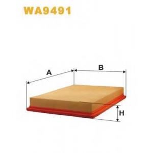 WIX FILTERS WA9491 Фильтр воздушный AP003/8/WA9491 (пр-во WIX-Filtron)