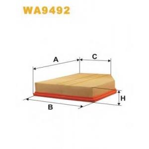 WIX FILTERS WA9492 Фильтр воздушный WA9492/AP032/4 (пр-во WIX-Filtron)