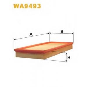 WIX WA9493 Фильтр воздушный (AP 034/2)