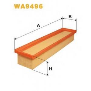 WIX FILTERS WA9496 Фильтр воздушный WA9496/AP134/8 (пр-во WIX-Filtron)
