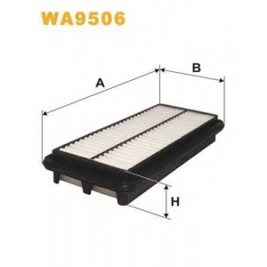 WIX FILTERS WA9506 Фильтр воздушный KIA PICANTO WA9506/AP182/7 (пр-во WIX-Filtron)