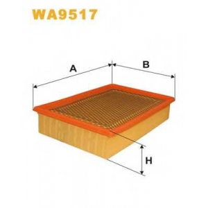 WIX FILTERS WA9517 Фильтр воздушный WA9517/112/1 (пр-во WIX-Filtron)