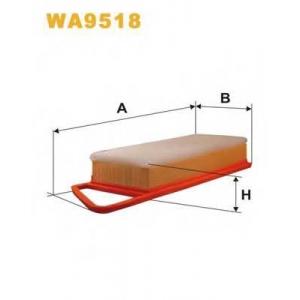 WIXFILTRON WA9518 Фільтр повітряний