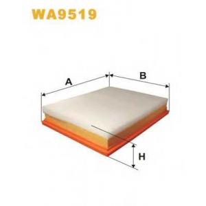 WIX FILTERS WA9519 Фильтр воздушный WA9519/AP137/5 (пр-во WIX-Filtron)