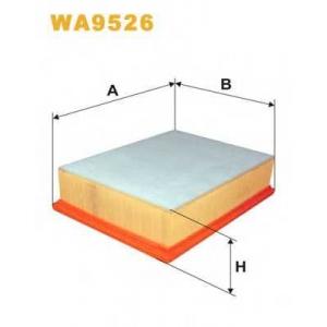 WIX FILTERS WA9526 Фильтр воздушный WA9526/AP058/4 (пр-во WIX-Filtron)