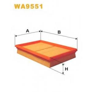 WIXFILTRON WA9551 Фільтр повітряний