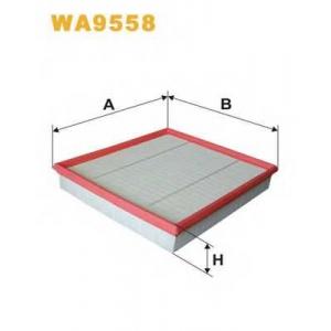 Воздушный фильтр wa9558 wix - FORD TRANSIT TOURNEO автобус 2.2 TDCi