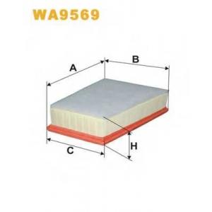 Воздушный фильтр wa9569 filtron - RENAULT KANGOO BE BOP (KW0/1_) вэн 1.5 dCi