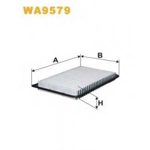 Воздушный фильтр wa9579 wix - MAZDA 3 (BK) Наклонная задняя часть 1.4