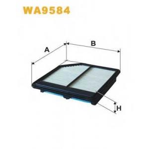 WIX FILTERS WA9584 Фильтр воздушный WA9584/104/7 (пр-во WIX-Filtron)