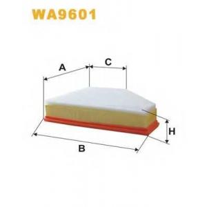 WIX FILTERS WA9601 Фильтр воздушный BMW (пр-во WIX-Filtron)