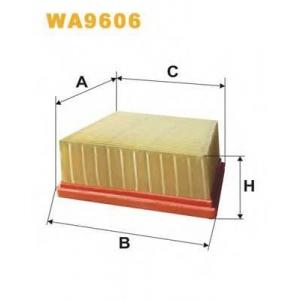 WIX FILTERS WA9606 Фильтр воздушный WA9606/AP151/5 (пр-во WIX-Filtron)
