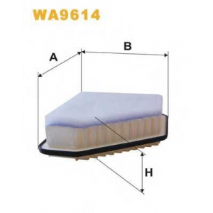 WIX FILTERS WA9614 Фильтр воздушный (пр-во Wix-Filtron)