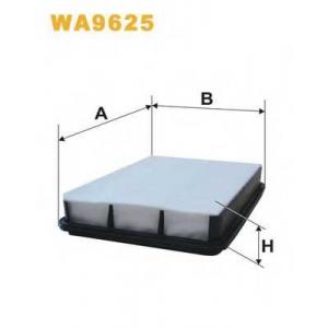 WIX FILTERS WA9625 Фильтр воздушный TOYOTA LANDCRUISER AP143/2/WA9625 (пр-во WIX-Filtron)
